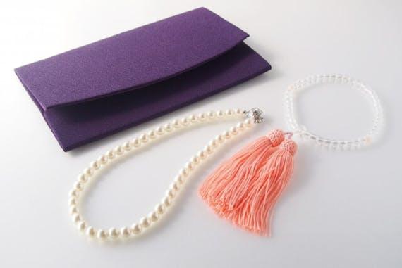 袱紗 数珠 真珠