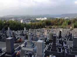 陽光台公園墓地 上空