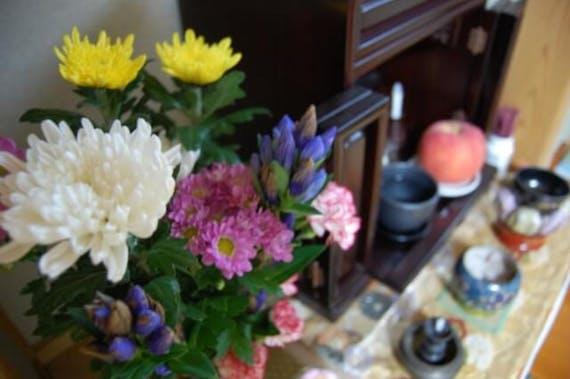 仏壇の花の飾り方は?選び方やタブー、長持ちさせる方法も解説