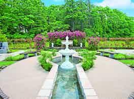 メモリアルパーク大和墓苑ふれあいの郷 噴水