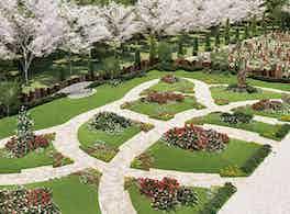 やすらぎの花の里 所沢西武霊園 参道
