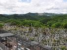 上川霊園 見晴らし