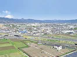 小田原中央霊園 富士山