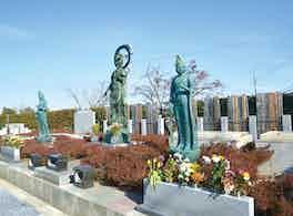 宝積観音メモリアル 悠久の丘 銅像