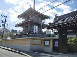 圓妙寺 のうこつぼ 正門右