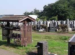 各務原市営 公園墓地 瞑想の森 小屋