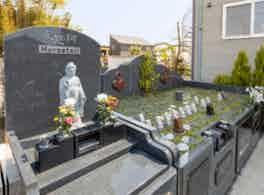 「浄円寺墓苑」樹木葬・永代供養付墓所 樹木葬側面