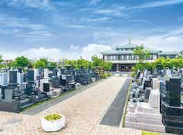 新埼玉霊園(上尾市) 景観