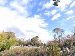小路口墓地 霊園風景