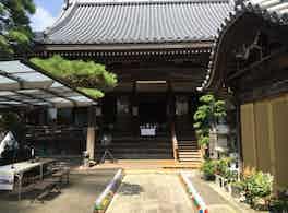 教禅寺 のうこつぼ 通路