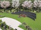 やすらぎの花の里 所沢西武霊園 広角