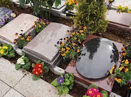 やすらぎの花の里 所沢西武霊園 楕円形