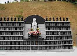 無極寺 永代供養墓 全体