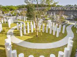 森林公園昭和浄苑 永代供養墓 俯瞰