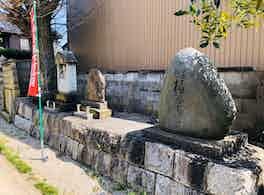 光明寺 のうこつぼ 石