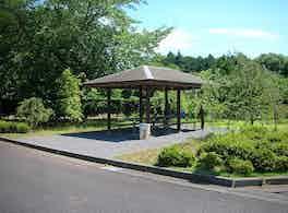 水戸西の杜霊園 休憩所
