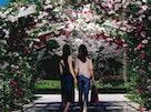 やすらぎの花の里 所沢西武霊園 アーチ