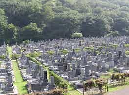 各務原市営 公園墓地 瞑想の森 風景