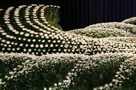 祭壇に飾る花の種類・金額相場!葬儀後は持ち帰る?花祭壇も解説