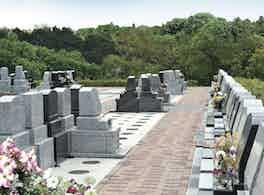 あおぞら霊園 墓石