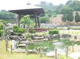 新宮霊園 庭