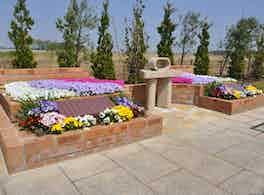 メモリアルガーデン桶川霊園 花壇
