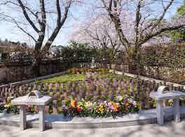 延命寺墓苑 永代供養墓・樹木葬 境内