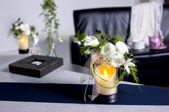 【お花とキャンドルで癒しの空間をお届け】LCデコーデ合同会社