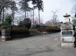 京葉霊園 入口
