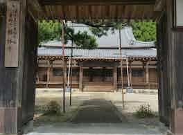 勝林寺 のうこつぼ 鳥居