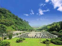 久留米中央霊園 風景