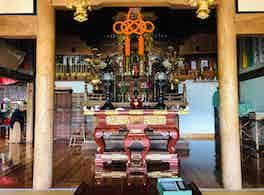 大榮寺 のうこつぼ 本堂内正面