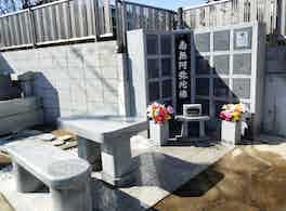 明超寺 のうこつぼ お墓左