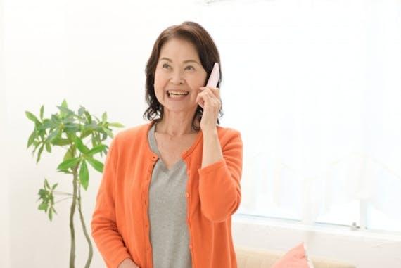 ガラケー シニア 携帯電話