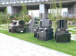 吉川霊園 芝