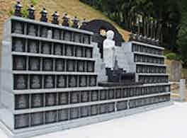 無極寺 永代供養墓 側面