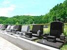 上川霊園 緑豊か