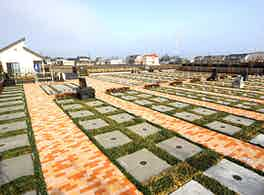 うらわ美園霊苑「永遠の絆」永代供養墓 区画風景