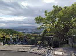 高槻市公園墓地 景色