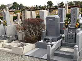 大阪市設 服部霊園 墓2