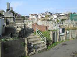 下関市営 西部墓地 景観